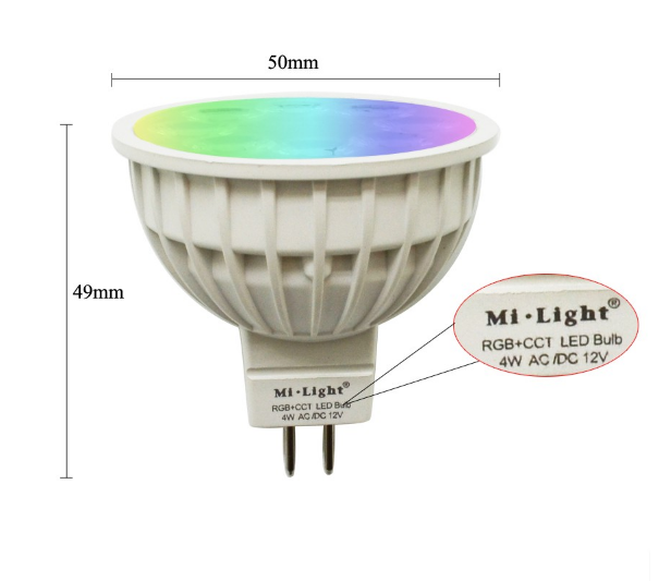 12V_24G_Wireless_Milight_Dimmable_MR16_2