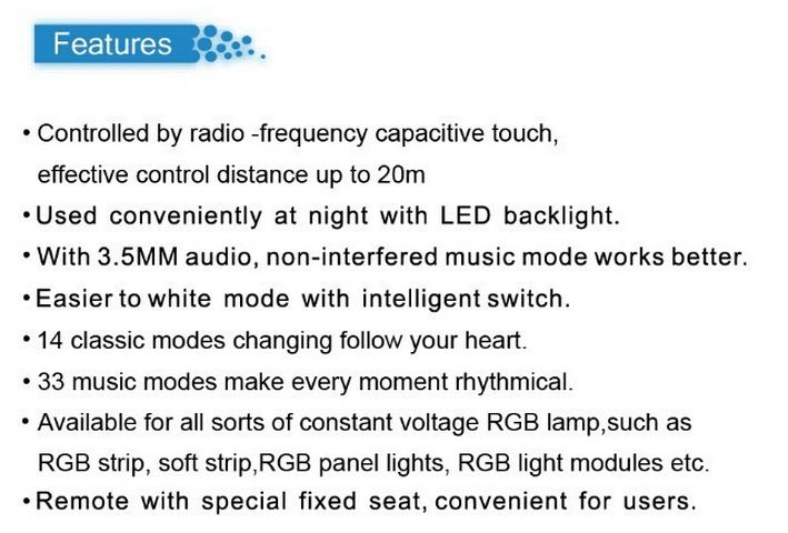 Colorful_X1_LED_Music_Controller_RF_Remote_For_6803_RGB_LED_Strips