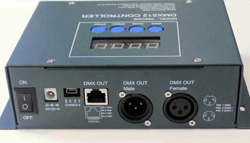 DMX300_LED_Dimmable_Controller