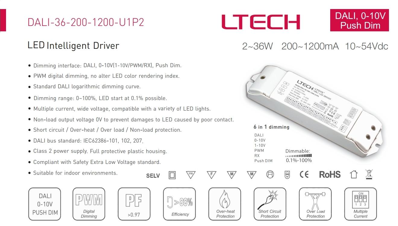 LTECH_DALI_36_200_1200_U1P2_CC_DALI_Dimmable_Driver_1