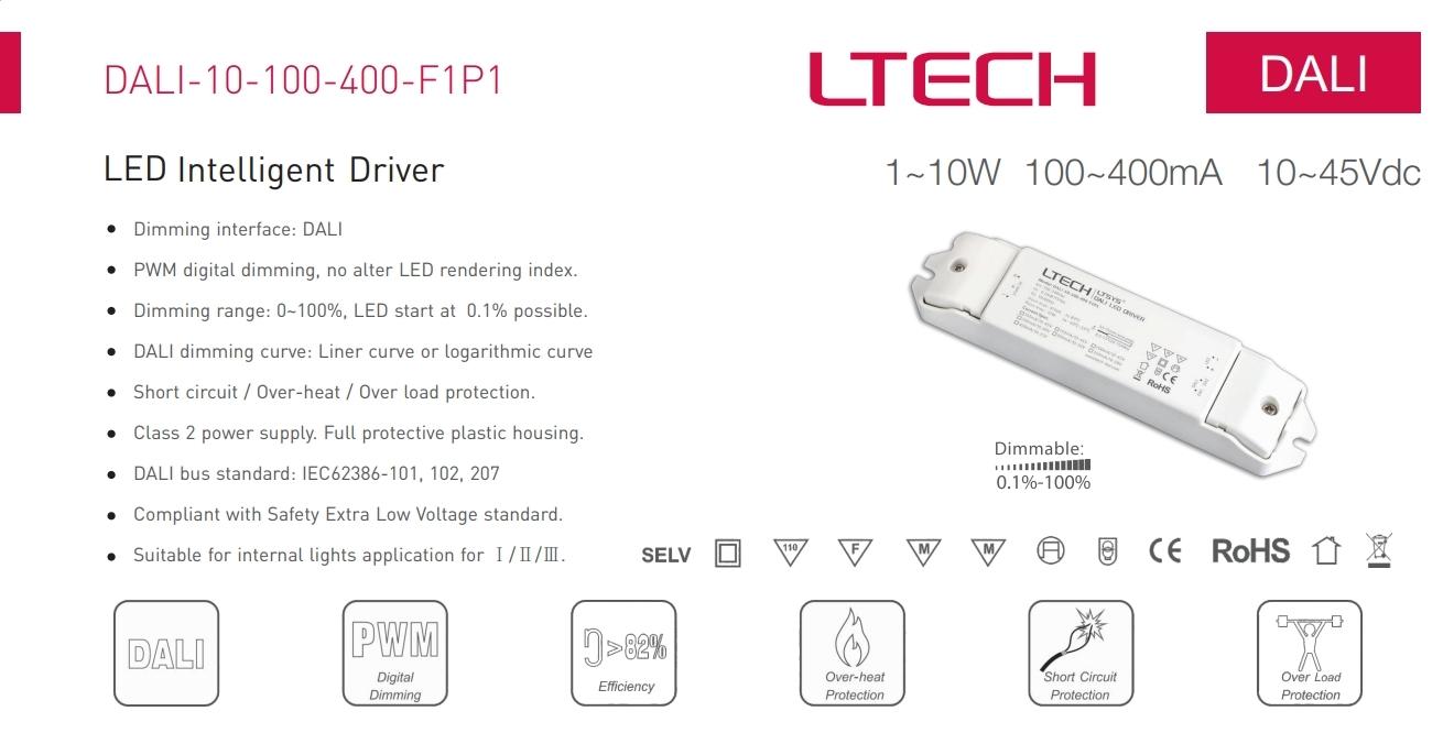 Ltech_DALI_10_100_400_F1P1_CC_DALI_Dimmable_Driver_1