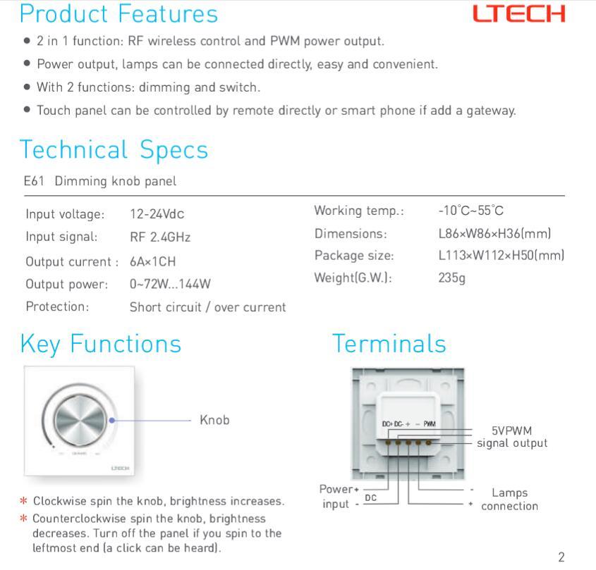 RF_Knob_Dimmer_Panel_LTECH_E61_3