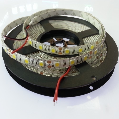 12V Waterproof 16.4Ft 300Leds Single Color 5050 LED Strip Light