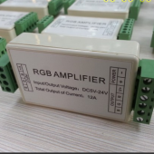 12A RGB Amplifier RGB LED Booster DC5V-24V