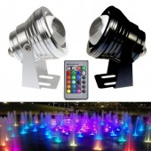12V 24V 10W Underwater Light IP67 Fountain Pool RGB Waterproof LED Lamp