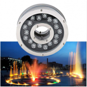 18W IP68 Waterproof Aluminum LED fountain Lamp Underwater Swimming Pool light