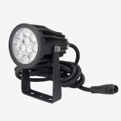24V FUTC08 Mi.Light 6W RGB+CCT Lamp Floodlight LED Garden Light Waterproof 2.4G Remote App Voice Control