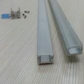 2 Meter Length Aluminum Channel LED Cabinet Light Bar Lights Fixtures