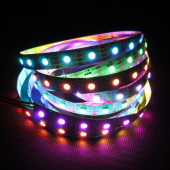 5m 5V Individually Programmable APA102 IC Epistar RGB 5050 LED Strip