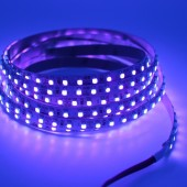 5M DC 12V 3528 SMD UV Ultraviolet 600LEDs 395-405nm LED Flexible Strip