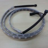 5V 1M WS2811 SMD 5050 RGB LED Strip Addressable 60ICs LED Light