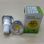 9W GU10 LED Bulb 120 Angle New COB Spotlight Led Lamp 5Pcs