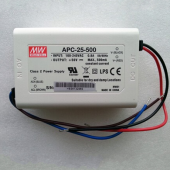 APC-25 Series Mean Well 25W Switching Power Supply LED Driver