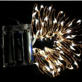 Battery Operated 3M 30 LED Decorative Copper Wire Fairy String Lights