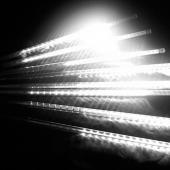 8 Tubes 30cm White Light LED Meteor Lights For Christmas Decoration