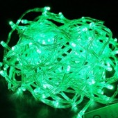 10m 100 LEDs Fairy Light Green String Lights for Tree Decoration 3Pcs