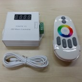 Colorful X1 LED Music Controller With Remote Control For 6803IC LED