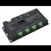 D12A Skydance Led Controller OLED 12CH*5A 12-24VDC CV DMX Decoder