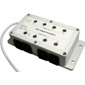 DC12V-24V DMX Signal Amplifier 1 signal in 8 sgnal out