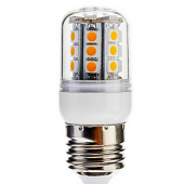 Dimmable 4W 30LED 400LM SMD 5050 E27 LED Corn Light Bulb Lamp