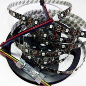 DMX Controlled 5V Addressable RGB Programmable LED Strip 5M 160Leds