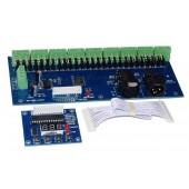 DMX-27CH-LED Digital Display Dimmer 1A*27CH Decoder 12v-24v Led Controller