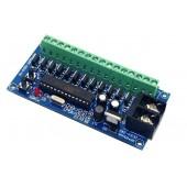 WS-2KEY-12LU-V1 5-24v Dmx512 4A *12CH Controller Decoder
