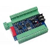 WS-DMX-24CH-BAN 24CH 24 Channels Driver 8 Group DMX Decoder Controller