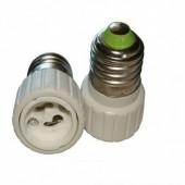 E27 to GU10 Led Lamp Adapter Base Converter 10Pcs