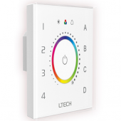 Ltech EDT3 DALI RGB Touch Panel Master Led Controller DT8 x-y Switch Dimming Color Adjustment Zone Control
