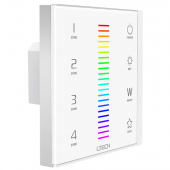 EX8 RGBW LED Touch Panel LTECH European-style Controller