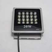 IP66 20W LED Floodlight 1800-2000LM 20-LEDs AC85-265V Flood Light