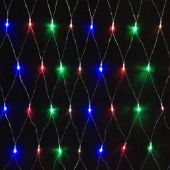 LED RGB Net Light 1.5m*1.5m LED Party Decoration Light 96Leds