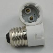LED Spotlight Adapter E27 to B22 Base Converter 10Pcs