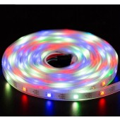 WS2812B RGB LED Strip Individual Addressable Light 30Leds/m 5V 5M