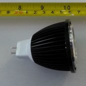 MR16 5W COB LED Spotlight AC 12V Bulb Light 3Pcs