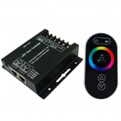 RGB LED Sync Controller with Touch Screen RF Remote Control