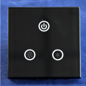 TM05 1 Channels 8A Touch Panel Wall Mounted LED Dimmer Controller