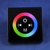 TM08 Touch Panel Wall-Mounted Switch RGB LED Controller