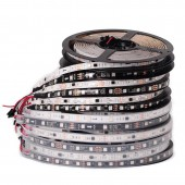 12V WS2811 5050 RGB Strip Addressable 30/48/60leds/m Led Pixels 5M 16.4ft